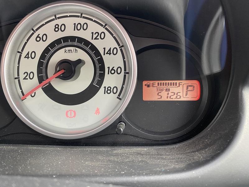 旧型デミオの燃費測定