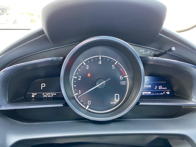 マツダ2の燃費表示