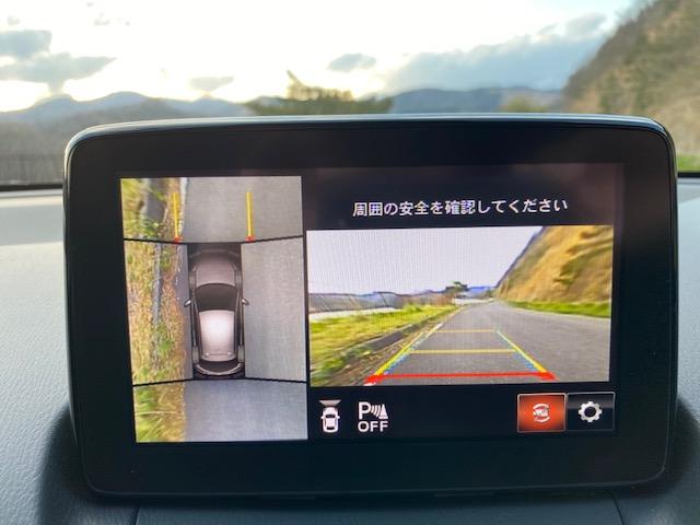 360度ビューモニターの写真