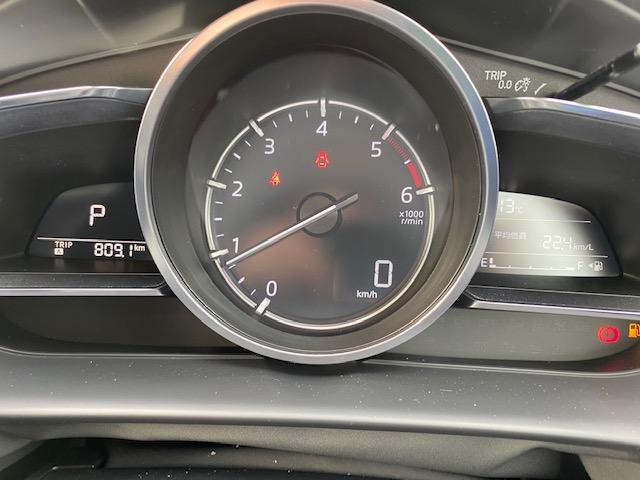 マツダ2の燃費測定二回目の写真