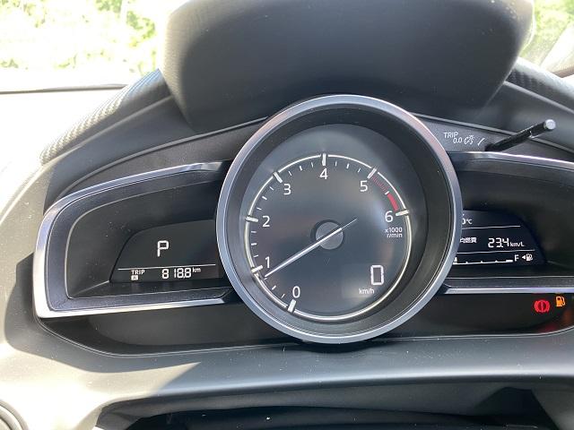 燃費測定5回目の走行距離の写真