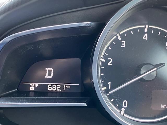 スタッドレス燃費測定での走行距離の写真